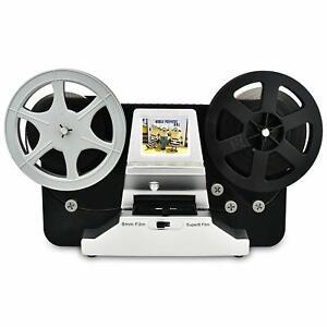 "Film Scanner 5""&3"" Reel 8mm Super 8 Roll Digital Video Scanner Movie Digitizer"