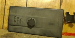 91-95 saturn s-series sw2 under hood engine compartment fuse box relay  cover oem   ebay  ebay