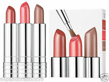 CLINIQUE BOXED SET 3 x Lipsticks ♡ ALL HEART - RUNWAY CORAL - BLUSHING NUDE ♡
