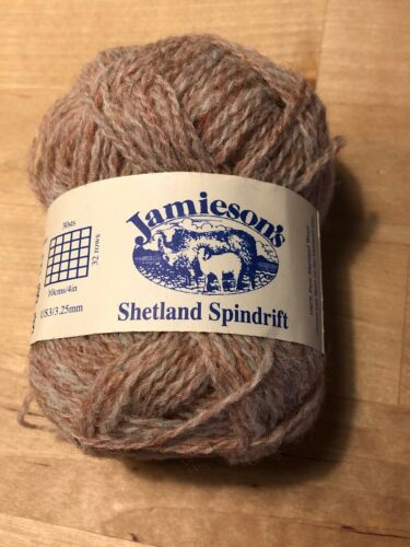 Jamieson's Shetland Spindrift Yarn Oyster 290 15 Feet