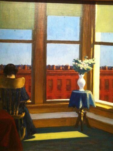 Poster Affiche Room In Brooklyn Edward Hopper Peinture Realisme Amerique