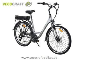 vecocraft luna 7 elektrofahrrad 26 zoll e citybike e. Black Bedroom Furniture Sets. Home Design Ideas