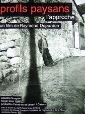 Affiche 40x60cm PROFILS PAYSANS, CHAPITRE 1: L'APPROCHE (2001) Depardon NEUVE
