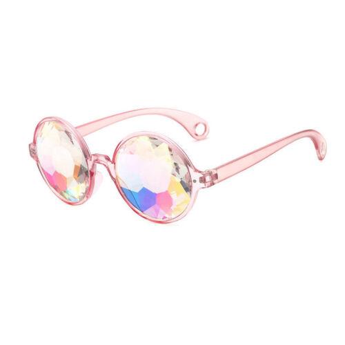 Kaleidoscope Glasses Rave Sunglasses Festival Diffracted Rainbow Hippy Retro