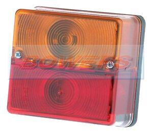 BRITAX-9088-SQUARE-REAR-STOP-TAIL-INDICATOR-LIGHT-LAMP-IVOR-WILLIAMS-TRAILER