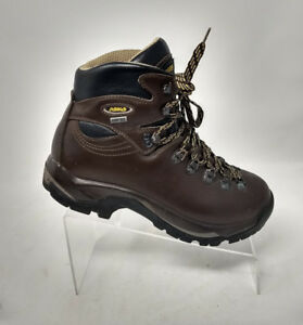 d9e2fd9b94b Details about Women Asolo Brown Leather Gore-Tex TPS 520 GTX Vibram Lace Up  Hiking Boot 9M