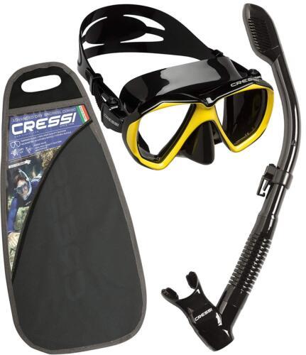 Cressi Ranger /& Dry Professional Erwachsene Schnorchel Set