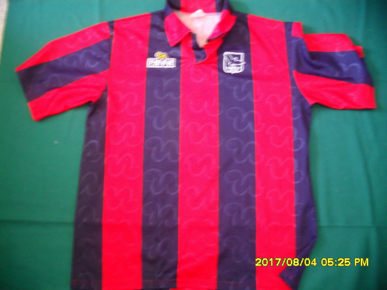 L'aquila calcio match worn maglia  calcio indossata football shirt pienne  contador genuino
