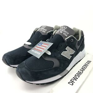 size 40 928b9 8cd14 Details about New Balance 999 M999CBL Men's 11 Made In USA Navy Grey Pewter  Running Shoes New
