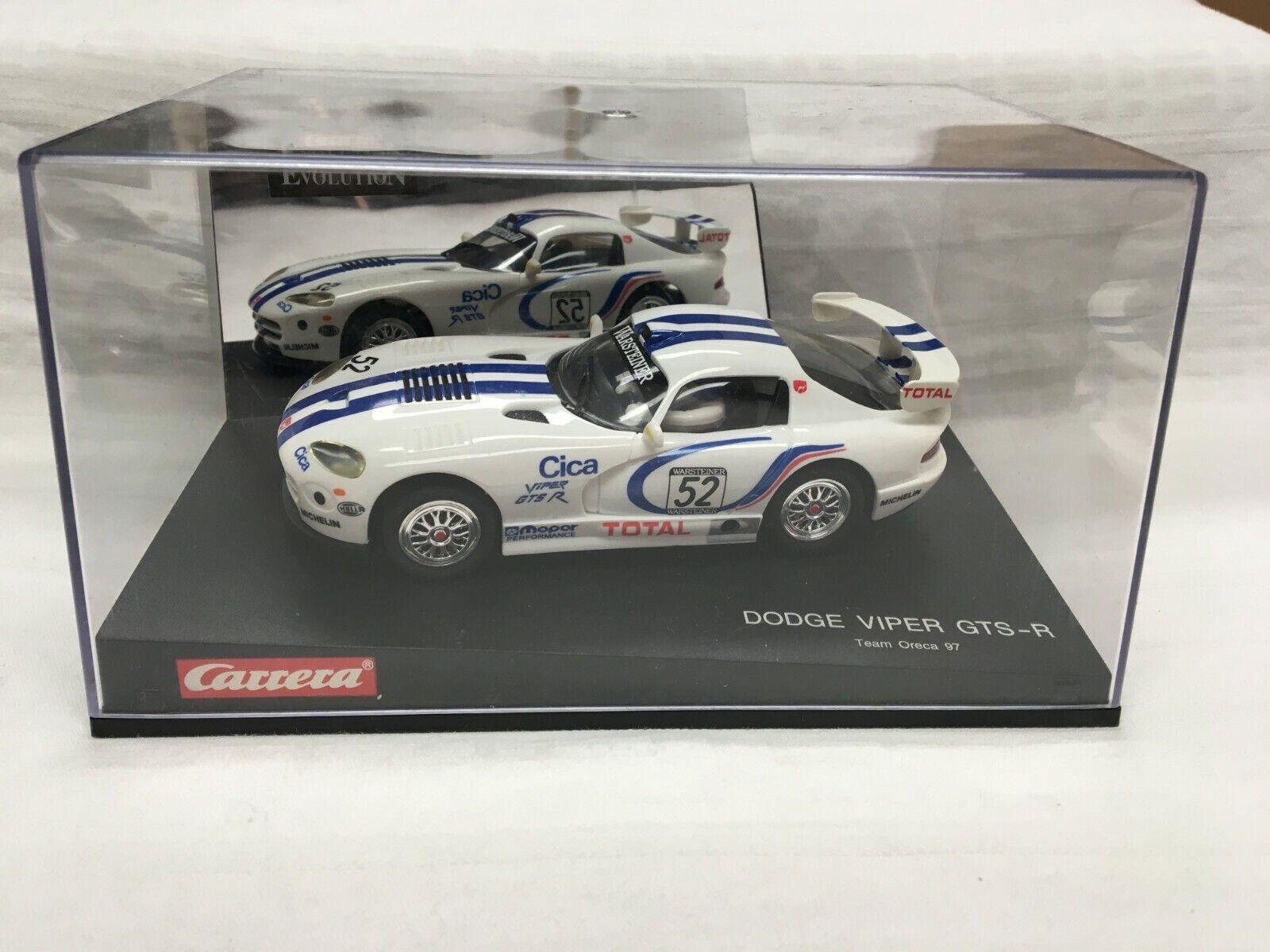 Carrera Evolution 25407 Evo. Dodge Viper GTS-R, Team Oreca 97 NEU OVP