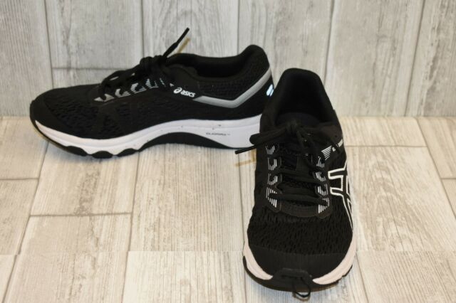 ffb59292f98536 ASICS 1014a005 002 Gt-1000 7 Black   White Boys Running Shoes Size 6 ...