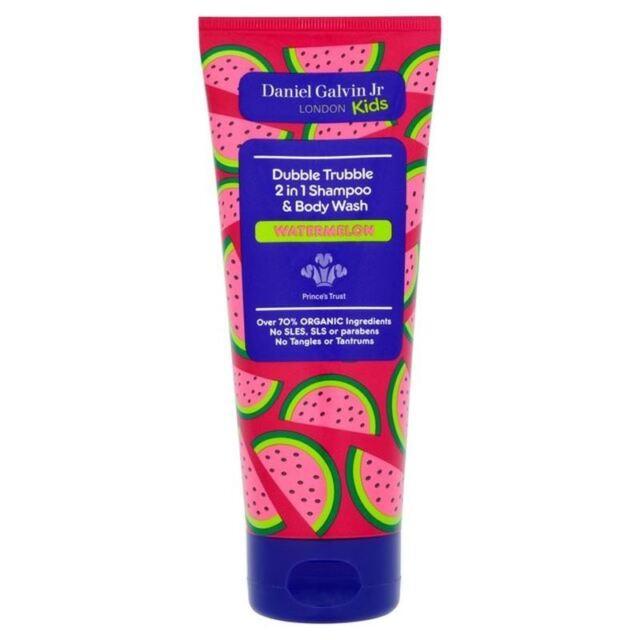 Daniel Galvin Jr Dubble Trubble 2 in 1 Watermelon Shampoo & Bodywash 200ml