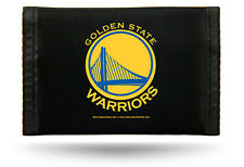 Golden State Warriors NBA Nylon Trifold Wallet ~ NEW