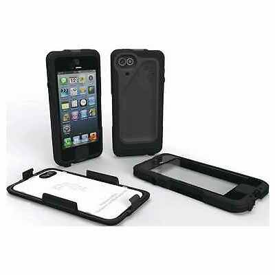 SCANTRUST Waterproof Case Shock Protective Cover for iPhone 5 Black