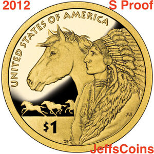 2012-S-Sacagawea-Native-American-Golden-Dollar-PROOF-Trade-Routes-Indian-Horse