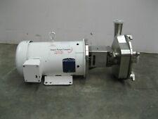 2 12 X 2 Ampco Lfr140 180tc Centrifugal Pump 5 Hp Motor Z51 2852
