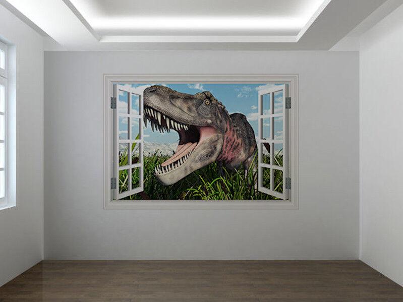 Dinosaures Tarbosaurus Photo Fenêtre Autocollant Mural Décoration (55466451ww) | Porter-résistance  Porter-résistance  Porter-résistance  b2bcb3