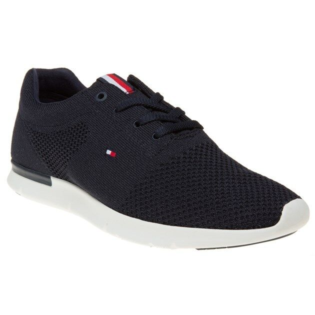 51e8fe6de Tommy Hilfiger Tobias 10d Mens Trainers Midnight Navy Shoes 45 EU for sale  online