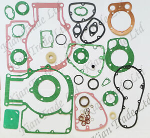 Complete Overhauling Gasket Packing Kit for Royal Enfield Bullet 350cc @UK