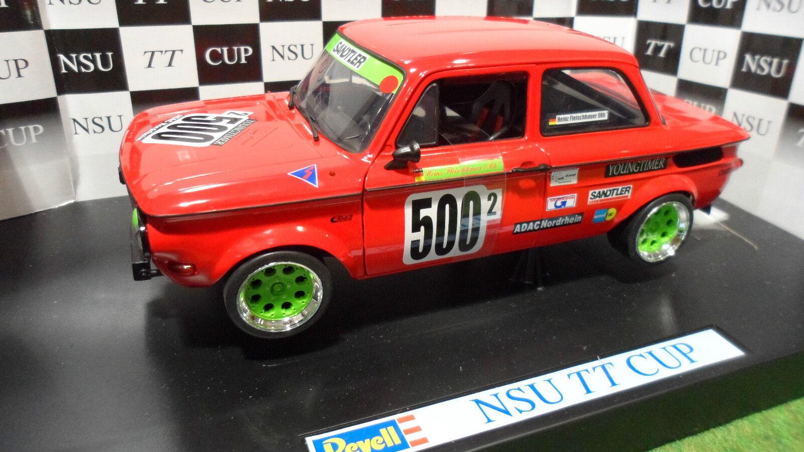 NSU TT CUP RACING  500 2 HEINZ FLEISCHHAUER 1 18 REVELL 08457 voiture miniature