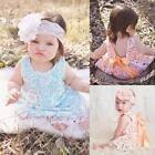 2PCS Toddler Kids Baby Girls T-shirt Tops Dress+Shorts Pants Outfits Clothes Set