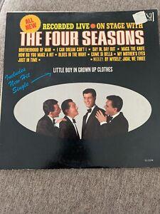 THE-FOUR-SEASONS-RECORDED-LIVE-VINTAGE-VINYL-LP