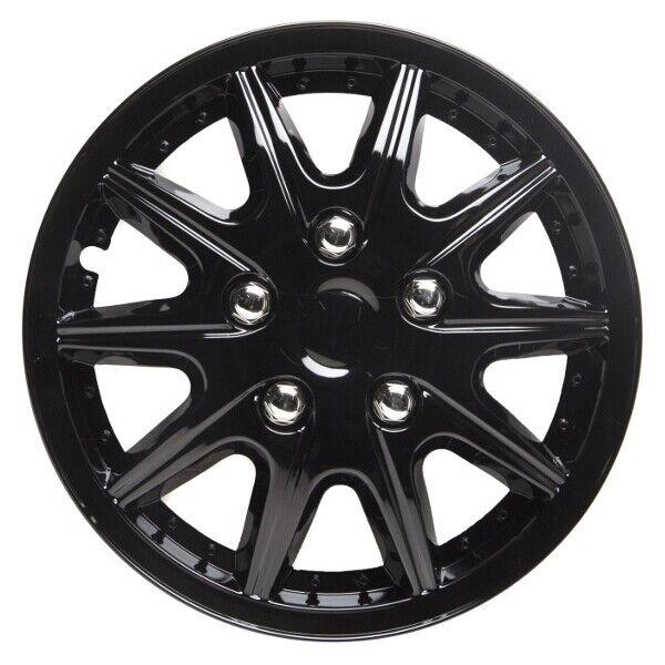Hubcaps Orden Black Wheel Trims Set of 4 14 inch
