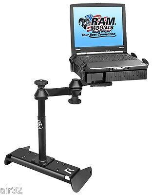 RAM Laptop Base for 2014-2018 Chevy Silverado//Work Truck w//Split Bench Seat