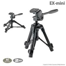 VELBON EX-MINI COMPACT TRIPOD WITH 2-WAY HEAD INC CASE TRAVEL SLR DSLR COMPACT