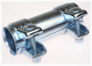 1x-BayWorld-Auspuff-Universal-Rohrverbinder-38x42-5x125mm-Doppelschelle-38x125mm