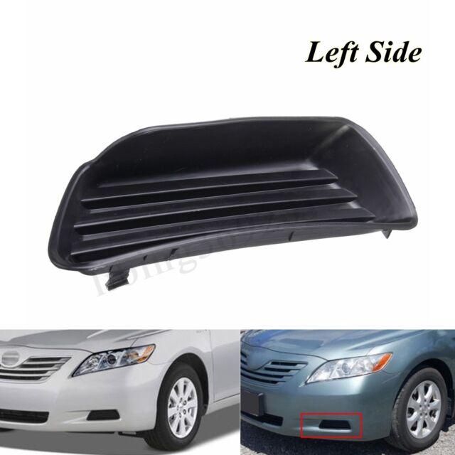 Left+Right Front Bumper Fog light Cover Insert Panel For Toyota Camry 5212706050