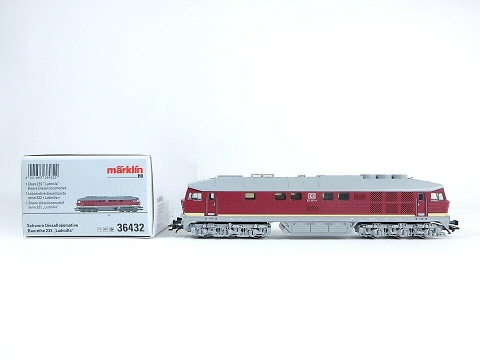 Märklin H0 36432, Diesel-Lok BR 232  Ludmilla , mfx, neu, OVP    Toy Story