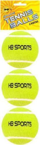 1X NEW Tennis Balls Sports Tournament Outdoor Fun Cricket Beach Dog