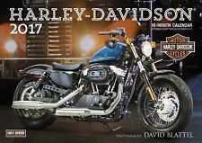 Harley-Davidson(R) 2017: 16-Month Calendar September 2016 through December 2017,