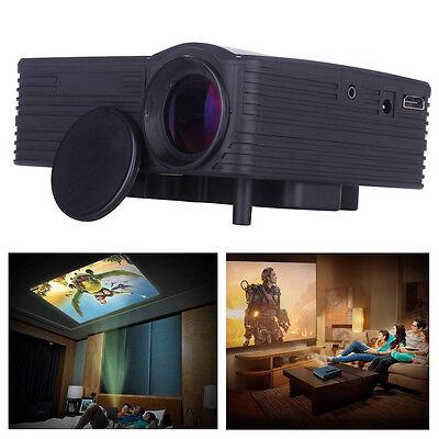 2000 Lumens 1080P HD Home Cinema Theater Multimedia LED Projector VGA USB HDMI