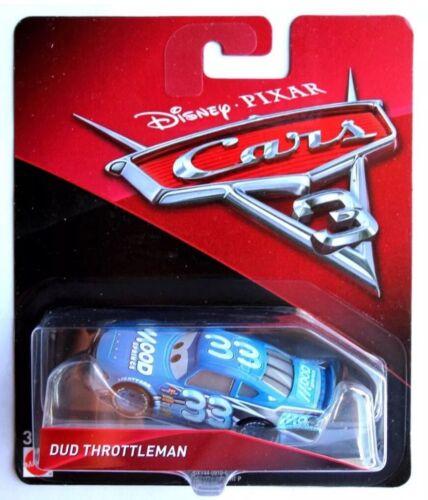 Disney Cars 3 Dud Throttleman Brand new