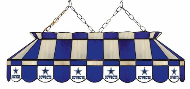 Phenomenal Nfl Dallas Cowboys Stained Glass 40 Pool Table Light New Made In U S A Download Free Architecture Designs Scobabritishbridgeorg
