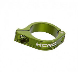 KCNC-Road-Mountain-Bike-Front-Derailleur-FD-Clamp-for-Brazed-on-16g-34-9mm-Green