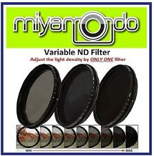 62mm Adjustable ND Filter ND2-400