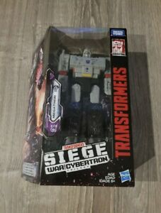 Transformers Siege Generations War for Cybertron Megatron ⭐️New In Box⭐️