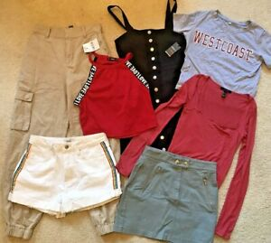 Forever 21 Shien Ropa Falda Pantalones Cortos Pantalones Vestido Camisas Pequeno Mediano Ebay