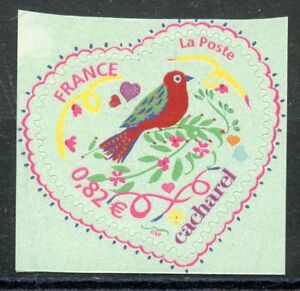 Fringant Timbre France Neuf N° 3748b ** Autoadhesif // Saint Valentin / Coeur 2005