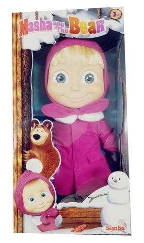 Macha doux corps poupée de Simba avec hiver-tenue jouer article neuf 40 cm grand