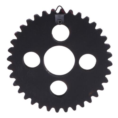 2PCS Vintage Steampunk Gear Wheel Wall Art Decorations Best Gift 12cm Type2