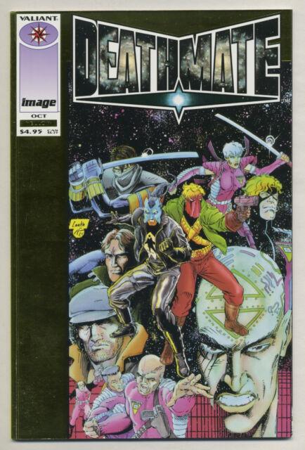 Deathmate Yellow (Oct 1993, Image/Valiant) [3rd Appearance of Ninjak] Perlin -j
