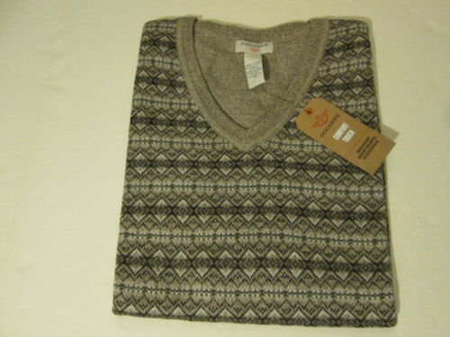 NWT DOCKERS COMFORT TOUCH SWEATER VEST MENS SZ 2XL BROWN