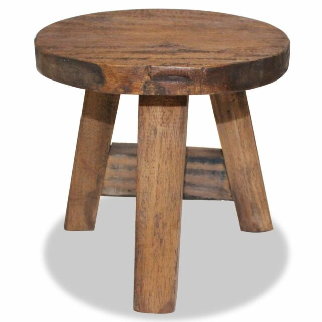 Magnificent Small Rustic Stool Vintage Wood Milking Stool Footstool Reclaimed Traditional Gamerscity Chair Design For Home Gamerscityorg