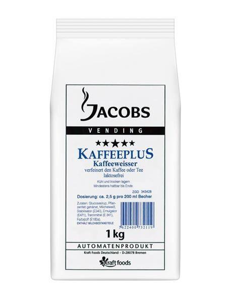 Jacobs Kaffeeplus laktosefreier Weißer 1000g