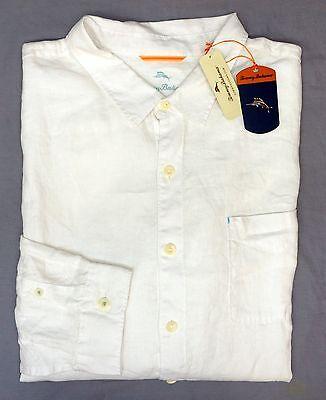 NWT Tommy Bahama Navy Blue Long Sleeve Flannel Shirt Mens XLT 2XB 3XT 2XT 3XB
