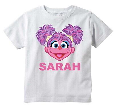 SUPER GROVER Sesame Street Custom T-shirt Personalize Birthday gift Tee